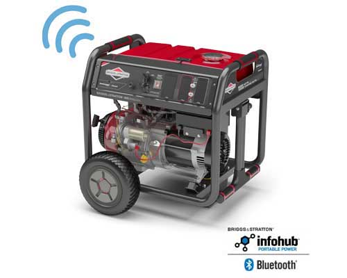 Right front view of 8000 Watt Elite Series™ Bluetooth Portable Generator
