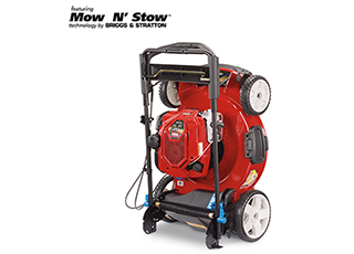 Push Mower Innovation Storage Mow Stow