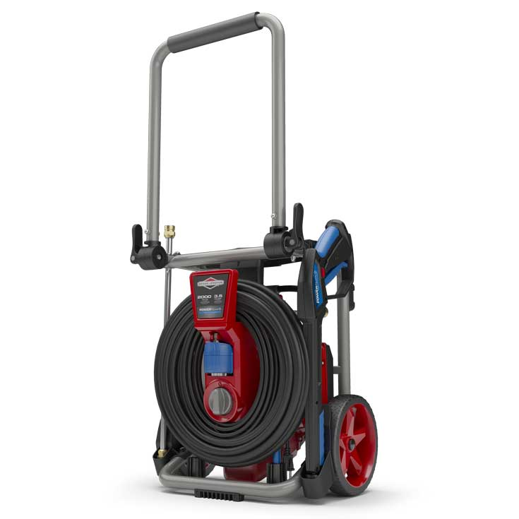 Power flow plus pressure washer