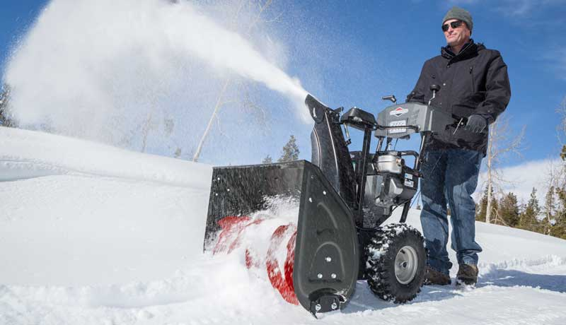 Snow shredder auger innovation