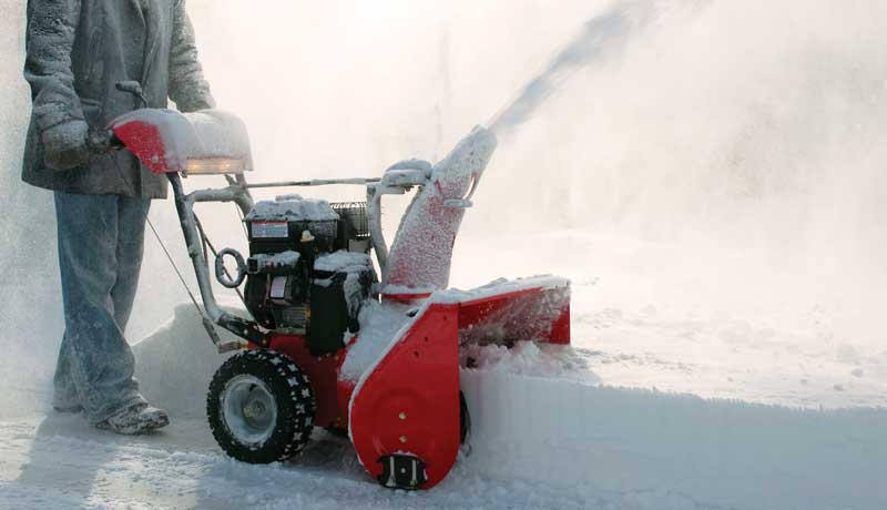 Briggs Snow blower engine