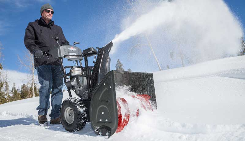 snow blowers briggs stratton