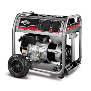 3500 Watt Portable Generator with Locking Outlet