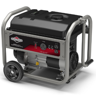 3500 Watt Portable Generator with RV Outlet, 206