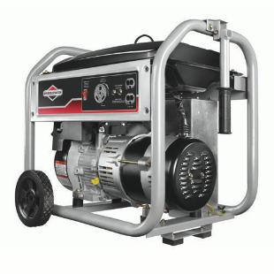 3500 Watt Portable Generator with RV Outlet, 250 CC
