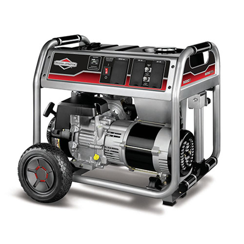 5000 Watt Portable Generator with Hour Meter